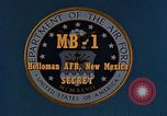 Image of MB-1 rocket Holloman Air Force Base New Mexico USA, 1956, second 2 stock footage video 65675020956