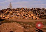 Image of log piles California United States USA, 1967, second 5 stock footage video 65675020971