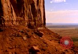 Image of Red sandstone mountains Arizona United States USA, 1973, second 8 stock footage video 65675020984