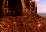 Image of Red sandstone mountains Arizona United States USA, 1973, second 9 stock footage video 65675020984