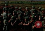 Image of Fourth Infantry Division Indoctrination Camp Enari Vietnam, 1967, second 1 stock footage video 65675021018