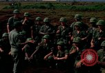 Image of Fourth Infantry Division Indoctrination Camp Enari Vietnam, 1967, second 2 stock footage video 65675021018