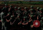Image of Fourth Infantry Division Indoctrination Camp Enari Vietnam, 1967, second 5 stock footage video 65675021018