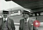Image of Passengers in airplane Cleveland Ohio USA, 1927, second 4 stock footage video 65675021022