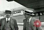 Image of Passengers in airplane Cleveland Ohio USA, 1927, second 6 stock footage video 65675021022