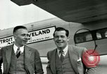 Image of Passengers in airplane Cleveland Ohio USA, 1927, second 10 stock footage video 65675021022