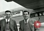 Image of Passengers in airplane Cleveland Ohio USA, 1927, second 11 stock footage video 65675021022