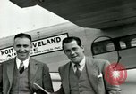 Image of Passengers in airplane Cleveland Ohio USA, 1927, second 12 stock footage video 65675021022