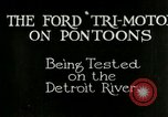 Image of Ford Tri Motor Detroit Michigan USA, 1927, second 1 stock footage video 65675021027