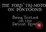 Image of Ford Tri Motor Detroit Michigan USA, 1927, second 2 stock footage video 65675021027