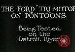 Image of Ford Tri Motor Detroit Michigan USA, 1927, second 6 stock footage video 65675021027