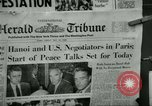 Image of Paris Peace Talks Paris France, 1968, second 6 stock footage video 65675021088