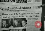 Image of Paris Peace Talks Paris France, 1968, second 8 stock footage video 65675021088