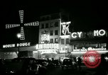 Image of Moulin Rouge Paris France, 1956, second 7 stock footage video 65675021098