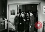 Image of Stage Door Canteen Paris France, 1945, second 9 stock footage video 65675021105