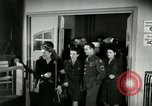 Image of Stage Door Canteen Paris France, 1945, second 12 stock footage video 65675021105
