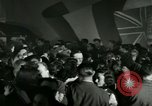 Image of Stage Door Canteen Paris France, 1945, second 7 stock footage video 65675021108