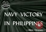 Image of US Navy fights Japanese in Philippines Philippine Sea, 1944, second 2 stock footage video 65675021117