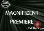 Image of Magnificent Doll premiere Cincinnati Ohio USA, 1946, second 2 stock footage video 65675021121