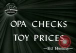 Image of toy prices Washington DC USA, 1944, second 3 stock footage video 65675021126