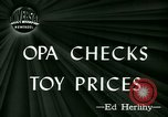 Image of toy prices Washington DC USA, 1944, second 4 stock footage video 65675021126