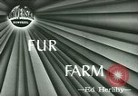Image of Annual Fur Breeders Exhibition Alberta Canada, 1946, second 1 stock footage video 65675021127