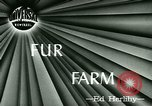 Image of Annual Fur Breeders Exhibition Alberta Canada, 1946, second 3 stock footage video 65675021127