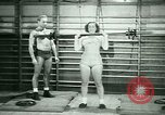 Image of Loretta Zygowicz body builder Oak Park Illinois USA, 1946, second 9 stock footage video 65675021129