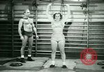Image of Loretta Zygowicz body builder Oak Park Illinois USA, 1946, second 12 stock footage video 65675021129
