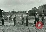 Image of Prisoner of War Camp Southern United States USA, 1944, second 6 stock footage video 65675021141