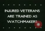 Image of Disabled veterans New York United States USA, 1945, second 5 stock footage video 65675021159