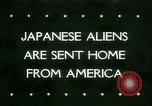 Image of Japanese aliens Seattle Washington USA, 1945, second 1 stock footage video 65675021160