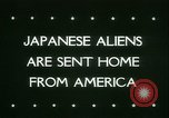 Image of Japanese aliens Seattle Washington USA, 1945, second 2 stock footage video 65675021160