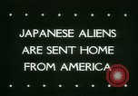 Image of Japanese aliens Seattle Washington USA, 1945, second 3 stock footage video 65675021160