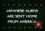 Image of Japanese aliens Seattle Washington USA, 1945, second 4 stock footage video 65675021160
