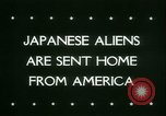 Image of Japanese aliens Seattle Washington USA, 1945, second 6 stock footage video 65675021160