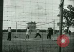 Image of German and Italian POWs play sports United States USA, 1944, second 2 stock footage video 65675021177
