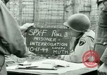 Image of Prisoner Interrogation Vallery France, 1944, second 4 stock footage video 65675021185