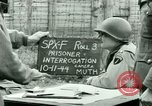 Image of Prisoner Interrogation Vallery France, 1944, second 5 stock footage video 65675021185