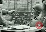 Image of Prisoner Interrogation Vallery France, 1944, second 6 stock footage video 65675021185