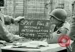 Image of Prisoner Interrogation Vallery France, 1944, second 10 stock footage video 65675021185