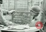 Image of Prisoner Interrogation Vallery France, 1944, second 11 stock footage video 65675021185