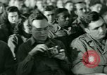 Image of testimony in trial of Franz Strasser Dachau Germany, 1945, second 5 stock footage video 65675021222