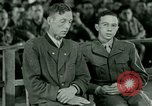 Image of testimony and sentencing of Franz Strasser Dachau Germany, 1945, second 1 stock footage video 65675021223