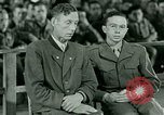 Image of testimony and sentencing of Franz Strasser Dachau Germany, 1945, second 3 stock footage video 65675021223
