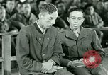 Image of testimony and sentencing of Franz Strasser Dachau Germany, 1945, second 7 stock footage video 65675021223
