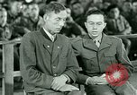 Image of testimony and sentencing of Franz Strasser Dachau Germany, 1945, second 8 stock footage video 65675021223