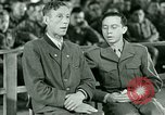 Image of testimony and sentencing of Franz Strasser Dachau Germany, 1945, second 11 stock footage video 65675021223