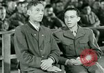 Image of testimony and sentencing of Franz Strasser Dachau Germany, 1945, second 12 stock footage video 65675021223