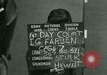Image of IG Farben Trial Nuremberg Germany, 1947, second 5 stock footage video 65675021227